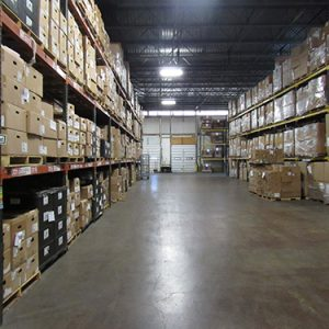 An open warehouse