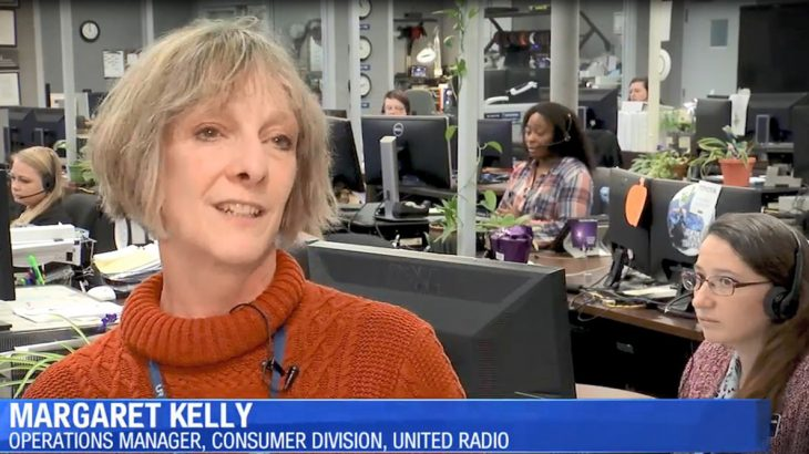 Margaret Kelley on the local news
