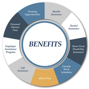 Benefits that we offer